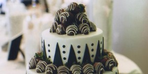 Chocolate Groom Cakes