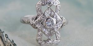 Vintage Rings from Erica Weiner