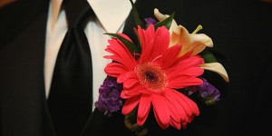 Red Boutonnieres
