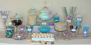 Blue Candy Buffets