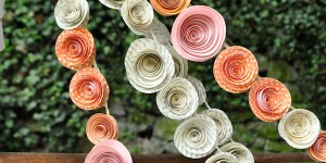 Paper Flower Wedding Garlands