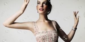 Anne Hathaway's Wedding Dress
