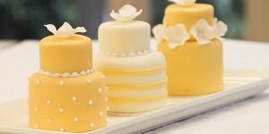Yellow Mini Cakes