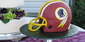 Football Groom Cakes