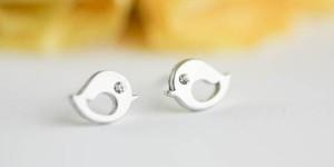 Bridesmaid Gift: Silver Studs
