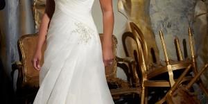 Full Figured Wedding Dresses by Mori Lee