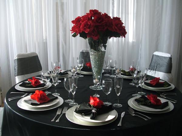 Black red white silver wedding on pinterest