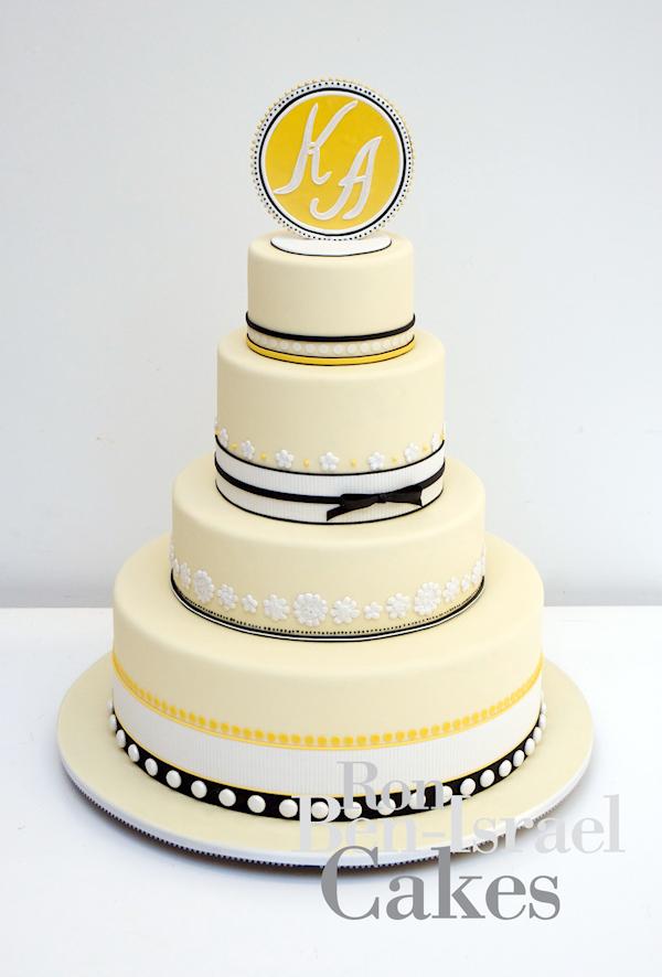 Yellow Wedding Cakes Bitsy Bride
