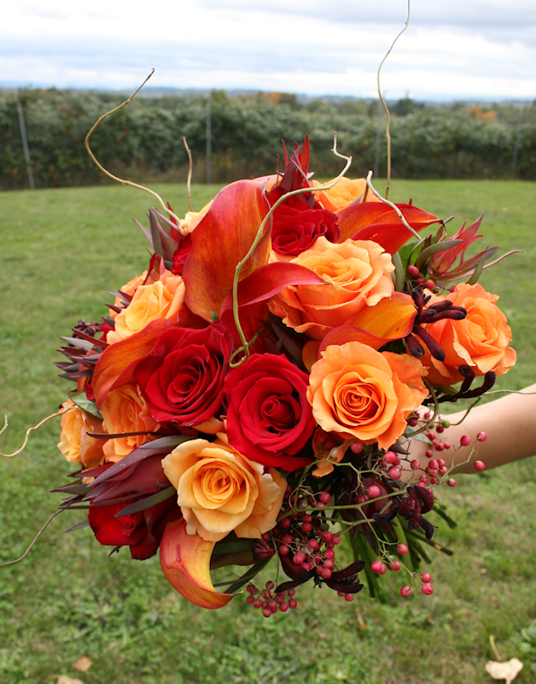 Wedding Flowers For November Wedding : Gallery for gt fall wedding flowers red