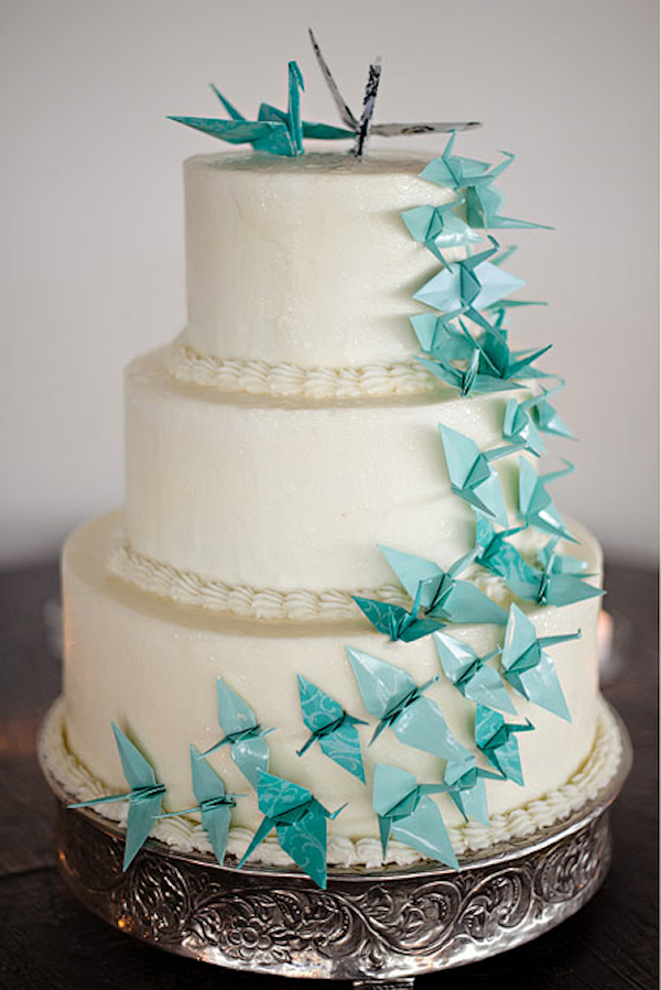 Blue Wedding Cakes Bitsy Bride