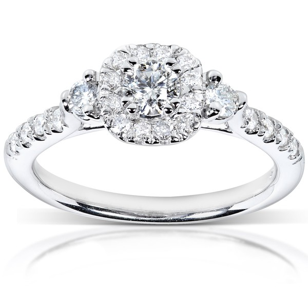 affordable engagement ring Bitsy Bride