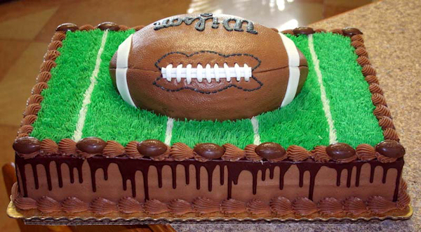 Redskins Football Cake
