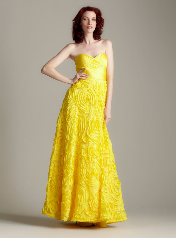 Yellow Bridesmaid Dresses 27