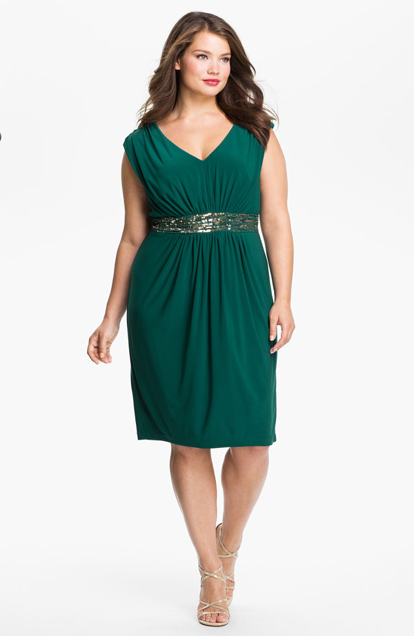 Green Plus Size Bridesmaid Dress Bitsy Bride