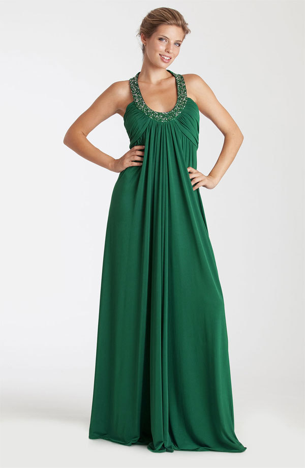chiffon dresses bridesmaid dresses green long With long green dress for wedding