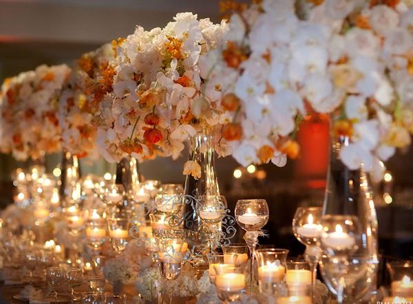 Orange white wedding flowers bitsy bride white orange tall wedding centerpieces mightylinksfo