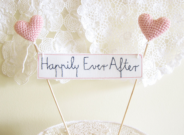 Diy Rustic Wedding Cake Toppers Topper Bitsy Bride